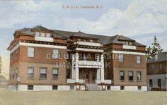 Railway Y.M.C.A. building, Cranbrook, B.C., 1915: Columbia Basin Institute of Regional History