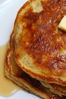 Edna Mae's Sour Cream Pancakes + Banana! - Pioneer Woman. Sugar ...