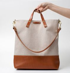 Best of Etsy: 20 Must-Haves for Students & Professionals Alike via Brit + Co., work handbag, tote