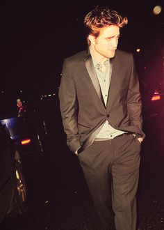 Even slightly tipsy, Rob is hot as hell and that's all.
