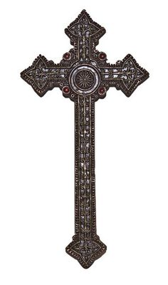Vintage Style Ornate Wall Cross – Beattitudes Religious Gifts $26.95