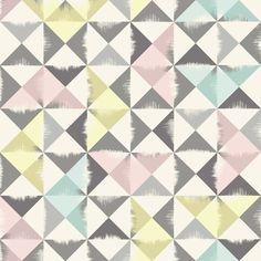 Triangle Brush - Grey - Wall Mural & Photo Wallpaper - Photowall