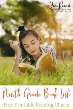 This Ninth Grade Book List is a great place to start when planning your Freshman's first year of high school literature. #HighSchoolLiterature #HighSchoolLit #HighSchoolBookList #BookList #HighSchool #Homeschool #Homeschooling #YearRoundHomeschooling