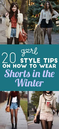 20 Style Tips On How To Wear Shorts In Winter