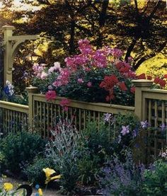 Ideas for a Privacy Fence & Deck thumbnail