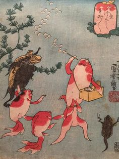 癒されるわ~!ツイッターで話題になった「可愛い日本画」 - NAVER まとめ