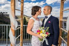Heather + Kevin, Olympic Park, Park City. Bridal bouquet by Native Flower Company.