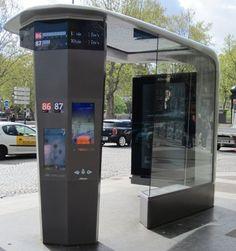 1000 images about bus stops and digital signage on. Black Bedroom Furniture Sets. Home Design Ideas