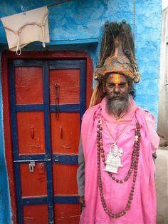 Indian Swami! Incredible India!