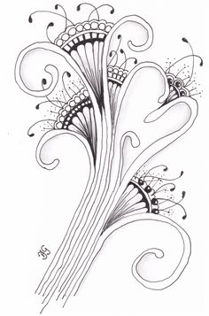 kaart 78 by JeAnToin Zentangle, Abstract, Artwork, Cards, Summary, Work Of Art, Zentangle Patterns, Auguste Rodin Artwork, Artworks