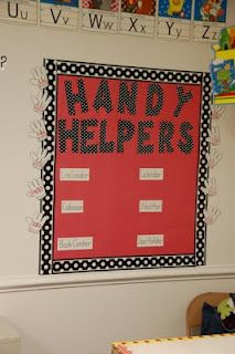 Handy Helpers Job Chart....but I don't have classroom jobs...too many kids...what else could I use Handy Helpers for?