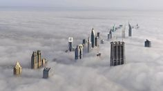 Dubai — Dubai, It's Incredible!!! A spectacular view from the Burj Khalifa, the tallest building in the World. Dubai — the city above the clouds =) ♥ REPIN, LIKE, COMMENT & SHARE! ♥