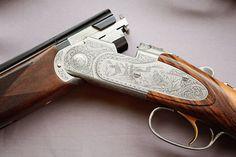 Engraving on a Beretta 687 EELL Diamond Pigeon Skeet Shooting, Shooting Sports, Beretta Shotgun, Firearms, Shotguns, Gun Rooms, Southern Gentleman, Outdoor Girls, Hunting Rifles