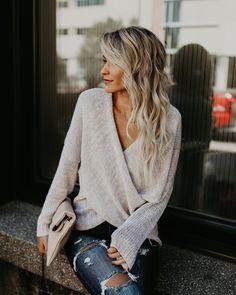 PREORDER - Hayden Sweater - Oatmeal
