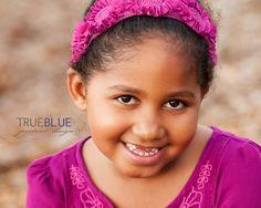 child portraits by True Blue Portrait