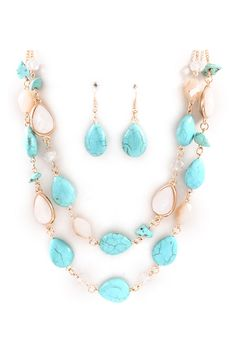 Ladine Necklace in Turquoise on Emma Stine Limited
