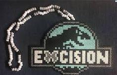 Image result for excision perler Pearler Bead Patterns, Kandi Patterns, Perler Patterns, Beading Patterns, Rave Bracelets, Festival Bracelets, Rave Candy, Rave Accessories, Peler Beads