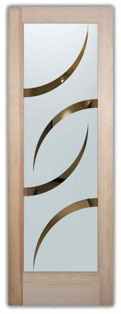 Swift Etched Glass Front Doors Art Deco Style - Glass Door Designer with a huge range in price! Customize your etched glass door design to your Decor style; http://www.sanssoucie.com/etched-glass-product/swift-glass-front-doors?design=swift&privacy=semi-private&effects%5B0%5D=solid-frost-surface-etched-negative-semi-private
