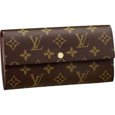 Louis Vuitton Sarah Wallet Monogram Canvas M61734