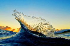 Ocean Water / One of dozens of amazing photos from The Shorebreak Art of Clark Little