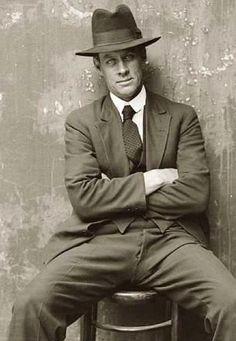 Vintage tango man