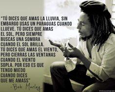 vino y girasoles: Bob Marley