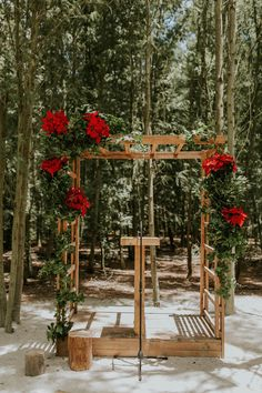 Rustic meets glam in this forest ceremony at Die Woud in South Africa | Image by Dearheart Photos