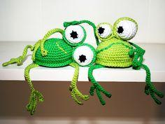 Frosch – Kantenhocker / Frog – Shelf Sitter