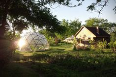 Biodomes Glass Geodesic Dome Homes 7