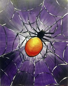 Browse our upcoming painting classes and events at Naperville Pinot's Palette! Reserve your seat for the best paint and sip experience today! Halloween Canvas Paintings, Halloween Painting, Easy Paintings, Halloween Rocks, Halloween Art, Autumn Painting, Autumn Art, Paint And Sip, Learn To Paint