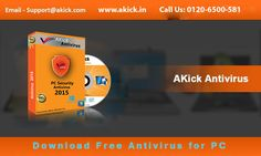 #Akick #Software is pleased to offer computer #antivirus #software to make your #PC 100% virus free. Effective  Best #Antivirus #Software can  deeply scan your PC and eradicate all viruses. To grab this antivirus call on 0120-6500-581.
