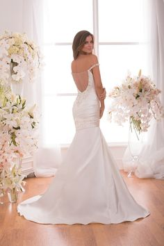 Style * F171002 * » Wedding Dresses » Jasmine 2015 Spring Collection » by Jasmine Bridal » Available Colours : Ivory, White (back)