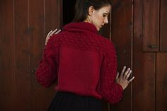 Hand made sweater by BBKnitwear on Etsy, €150.00
