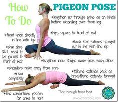 October Yoga Challenge: Pigeon Pose