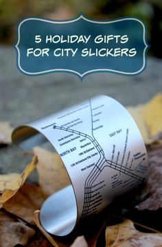 5 Holiday Gifts For City Slickers  http://makobiscribe.com/best-gifts-for-city-dwellers/
