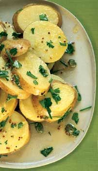 Danish Potato Salad Photo at Epicurious.com....This is a great salad for summer BBQ's