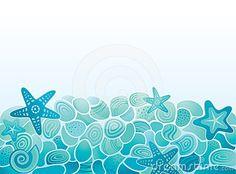 Sea pattern background