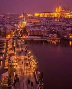Charles Bridge night ~ Prague, Czech Republic  Photo: @cbezerraphotos  Amazing   #living_europe #living_destinations #pragueworld #prague #praha #czechrepublic #vscoprague #igersprague #praguestagram #czechrepublic #czech_world #igersczech #europe #travel #traveladdict #loves_europe  #travelphotography #city #cityscape #cityview #loves_landscape #ig_europe #europa #places_wow #city_explore #europe_gallery #europe_vacations #praga #postcardsfromtheworld #super_europe