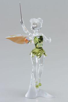 Tinker Bell Figurine In Green