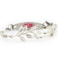 The Giving Tree Medical ID Bracelet.... The next med id bracelet I want! :) so beautiful!