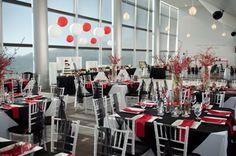 Rice Eccles Stadium & Towers, University of Utah themed wedding. #GoUtes