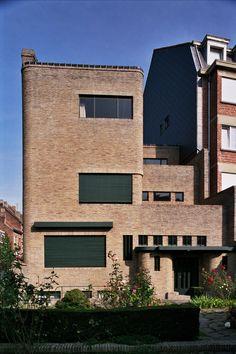 Ixelles - Maison Wolfers - Rue Alphonse Renard 60 - VAN DE VELDE Henry