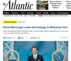 Here Are Some Facts About Scientology That Didn't Make It Into The Atlantic Advertorial by Henry Blodget via Business Insider. Native Advertising, Video Advertising, Advertising Campaign, David Miscavige, Church Of Scientology, Disruptive Innovation, Media Matters, Gain Muscle, The Guardian
