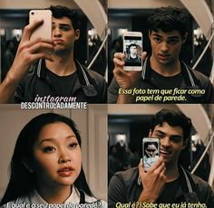 To all the boys i've loved before on We Heart It Teen Movies, Netflix Movies, Good Movies, Romantic Movie Quotes, Favorite Movie Quotes, Lara Jean, Cute Couples Goals, Couple Goals, Love Movie