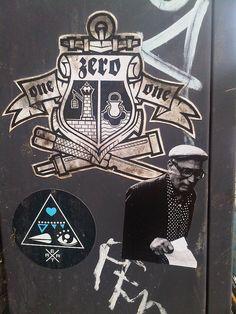 @ Copenhagen .... Street Art... Stickers dans la rue et sur les murs