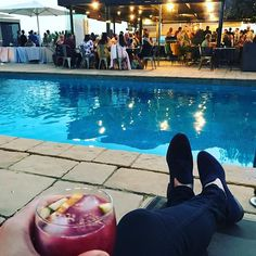 And relaxxx! What an amazing place to be celebrating Ed & Lous wedding  #wedding #barcelona #eventlife #relax #sun #pool #sangria