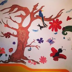 My painted wall :3