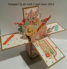 #Card in a Box #Birthday