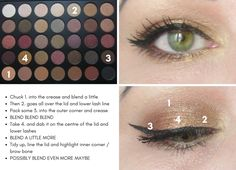 Quick and Easy Morphe 35F Look Number 1