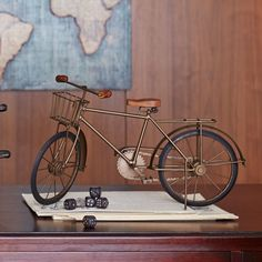 Metal Bicycle Sculpture | Pier 1 Imports
